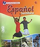 Espanol Santillana 1B, Texas Teacher's Edition