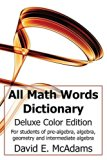 All Math Words Dictionary