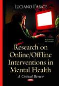 Research on Online / Offline Interventions in Mental Health : A Critical Review