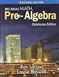 Big Ideas MATH Pre-Algebra, Oklahoma Edition - Teaching Edition