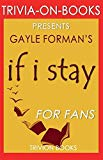 Trivia-On-Books If I Stay by Gayle Forman