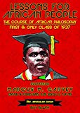 Lesson For African People: The Course of African Philosophy First & Only Class of 1937