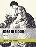 Rose in Bloom: Large Print