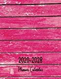Planner Calendar 2020-2028: Calendar Schedule 9 Years January 2020 - December 2028 Color woo...