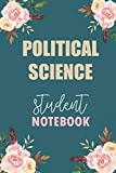 Political Science Student Notebook: Notebook Diary Journal for Sociology  Major College Stud...
