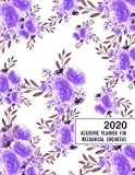 2020 Academic Planner for Mechanical Engineers: 8.5x11