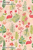 Flamingo Gratefulness Journal: Medium Sized Gratefulness Journal With Hand Drawn Flamingo Pa...