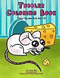 Toddler Coloring Book: Toddler Coloring Books Ages 1-2 (Toddler Handwriting Practice Workboo...