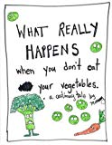 What Happens When You Don't Eat your Vegetables: A Cautionary Tale for Children (Cautionary ...