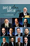 Days of Awe, Days of Joy: Divrei Torah on Elul, Rosh Hashana, Yom Kippur, and Sukkos from 19...
