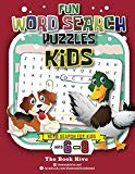 Fun Word Search Puzzles Kids: Word Search for Kids Ages 6-8 (Hidden Word Find Puzzles Books ...
