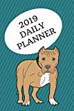 2019 Daily Planner: Pit bull; agenda book