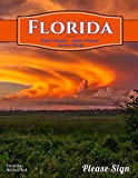 Florida Real Estate Open House Guest Book: Spaces for guests' names, phone numbers, email ad...