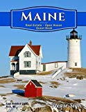 Maine Real Estate Open House Guest Book: Spaces for guests' names, phone numbers, email addr...