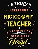 A Truly Incredible Photography Teacher Is Hard To Find and Impossible To Forget: Blank Line ...