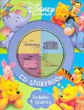 Disney Winnie the Pooh CD Storybook The Many Adventure of Winnie the Pooh / Piglet's Big Mov...