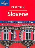 Lonely Planet Fast Talk Slovene