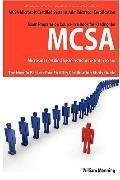 MCSA Microsoft Certified Systems Administrator Exam Preparation Course in a Book for Passing...