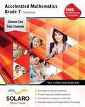Common Core Accelerated Mathematics Grade 7 Traditional: SOLARO Study Guide (Common Core Stu...