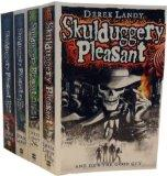 Skulduggery Pleasant Collection: Skulduggery Pleasant, Playing with Fire, the Faceless Ones,...