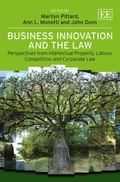 Business Innovation and the Law : Perspectives from Intellectual Property, Labour, Competiti...
