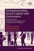 Entrepreneurship, Social Capital and Governance : Directions for the Sustainable Development...