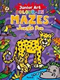 Colour-In Mazes Jungle Fun (Junior Art)
