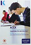 F6 Taxation (FA17) - Exam Kit