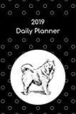 2019 Daily Planner: Alaskan malamute