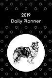 2019 Daily Planner: Shetland sheepdog