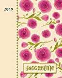 Jacqueline 2019: Personalized Weekly Planner including Monthly View | 12 Months January to D...