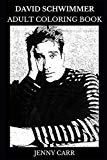 David Schwimmer Adult Coloring Book: Ross Geller from Friends and Robert Kardashian from Ame...