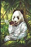 "The Gentleman Panda: The Gentleman Panda Bear: 120 Pages 6""x9"" Blank Lined Notebook, Journal..."