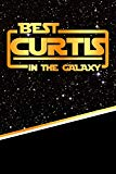 The Best Curtis In The Galaxy: Journal notebook features 120 pages of lined paper with a mat...