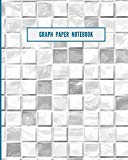 Graph Paper Notebook: 122 pages of blank graphing paper, 8x10 size fits in a binder