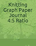 Knitting Graph Paper Journal 4:5 Ratio