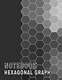 Hexagonal Graph Notebook: Blank Hexagon Paper 120 Pages 8.5x11 Scientific Research Laborator...