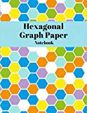 Hexagonal Graph Paper Notebook with 1/2 Inch Hexagons: 120 Pages - 8.5