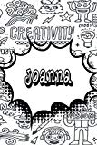 Joanna: Personalized Doodle Isometric DOT Paper Notebook featuring 120 pages 6