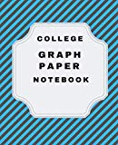 College Graph Paper Notebook: 5 Squares Per Inch 7.5 X 9.25 (130 pages) Graph Paper Composit...