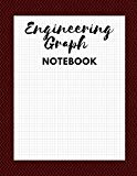 Engineering Graph Notebook: Half College Ruled and Half 5X5 Graph Paper for Engineering Proj...
