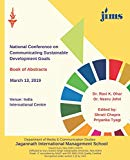 National Conference on Communicating Sustainable Development Goals: Book of Abstracts