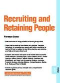 Recruiting and Retaining People People 09.04