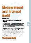 Measurement and Internal Audit