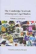 Cambridge Yearbook of European Legal Studies 2006 - 2007