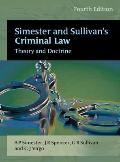 Criminal Law : Theory and Doctrine
