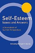 Self Esteem Issues And Answers A Sourcebook of Current Perspectives