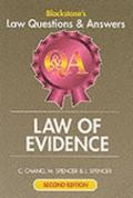 Law of Evidence (Blackstone's Law Q & A)