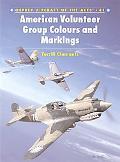 American Volunteer Group Colors and Markings