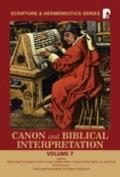 Canon and Biblical Interpretation